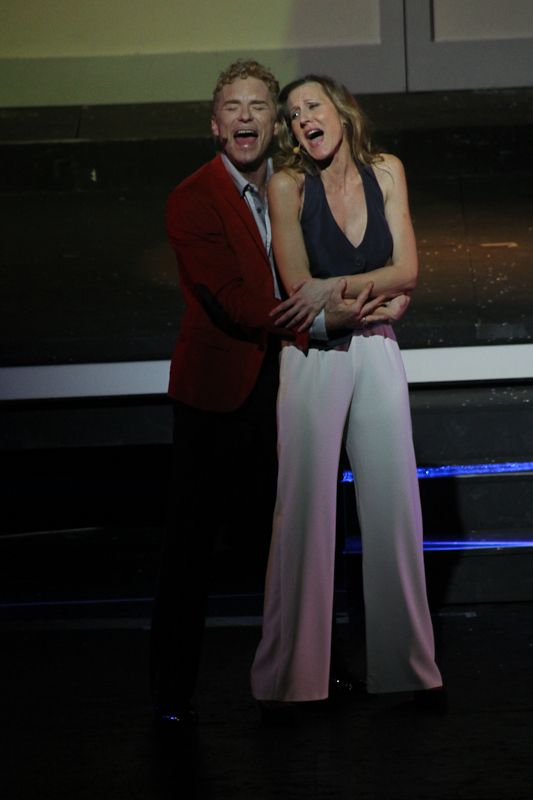 Michele Carfora (Bruce) e Lisa Angelillo (Cinzia)