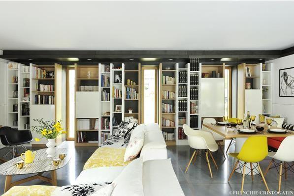 63 best living area zoom sur les pi ces vivre images - Piece a vivre moderne ...