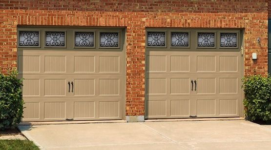 Doors Design: Decorative Garage Door Window Inserts
