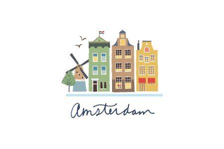 AMSTERDAM CITYGUIDE LOGO: Portfolio Design, Amsterdam Trips, Amsterdam Holland, Amsterdam Cityguid, Amsterdam With Kids, Amsterdam Illustrations, Cities Guide, Design Studios, Amsterdam Cities