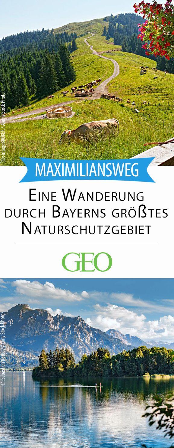 Auf königlichen Spuren mitten durch Bayerns größtes Naturschutzgebiet