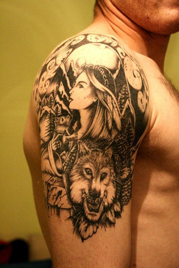 Quarter sleeve tattoo - 40 Quarter Sleeve Tattoos | Art and Design