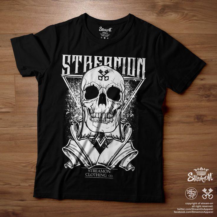 #ON Graphic Tee Skull As Skull SOLD https://facebook.com/StreamonApparel https://twitter.com/StreamOnApparel