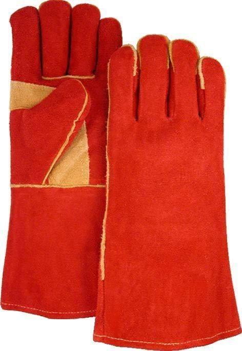 Majestic 2514AS Shoulder Split Cowhide Leather Welders Glove Rust (DOZEN)