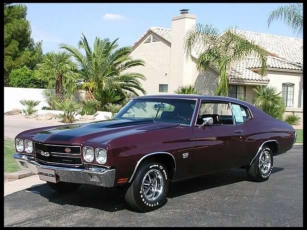 1970 Chevrolet Chevelle SS AACA Grand National for sale by Mecum Auction