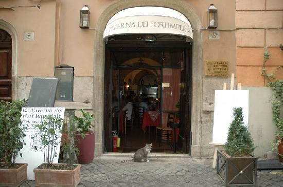 La Taverna dei Fori Imperiali - our favorite place to eat when we visit Rome, Italy
