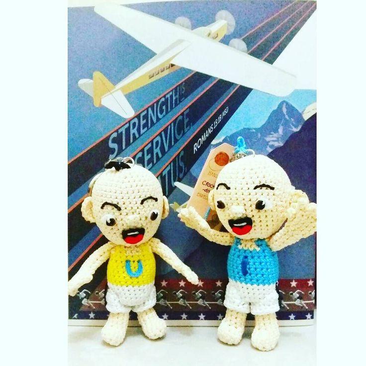 Dream high fly high  #crochet #amigurumi upin #ipin #upinipin#customgift  #boneka #rajutan #bonekarajut #rajut #bagcharm #keychain #souvenir #project #openorder #custom #babababanana #etsy #craft #art #handmade #handcraft #kado #kadounik #custom #customegift #surabaya #souvenir #couple #love #quotes by crochethobby