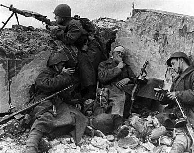 Image result for ww2 soldier trenches