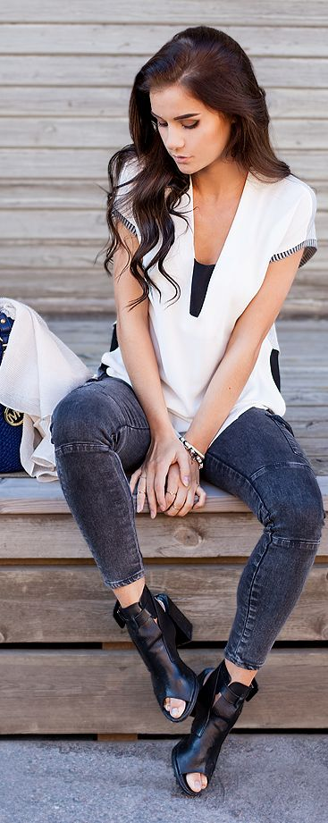 Linda Ryden Casual Chic Downtown Outfit Idea