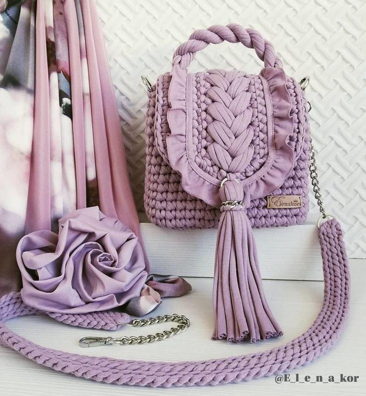 Crochet Bag Pattern Is A Stunner crochet, crochet patterns, crochet patterns fre…
