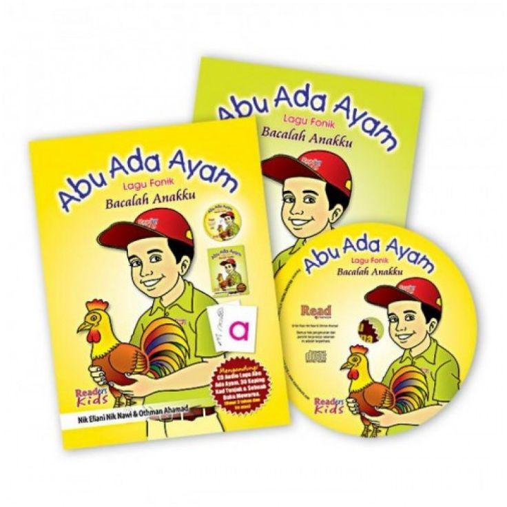 Lagu Abu Ada Ayam iaitu sebuah lagu fonik dari Kaedah Bacalah Anakku. Lagu ini dihasilkan untuk membiasakan anak-anak dengan sebutan bunyi fonik.  baca lanjut http://junioraulad.com/vcd-abu-ada-ayam