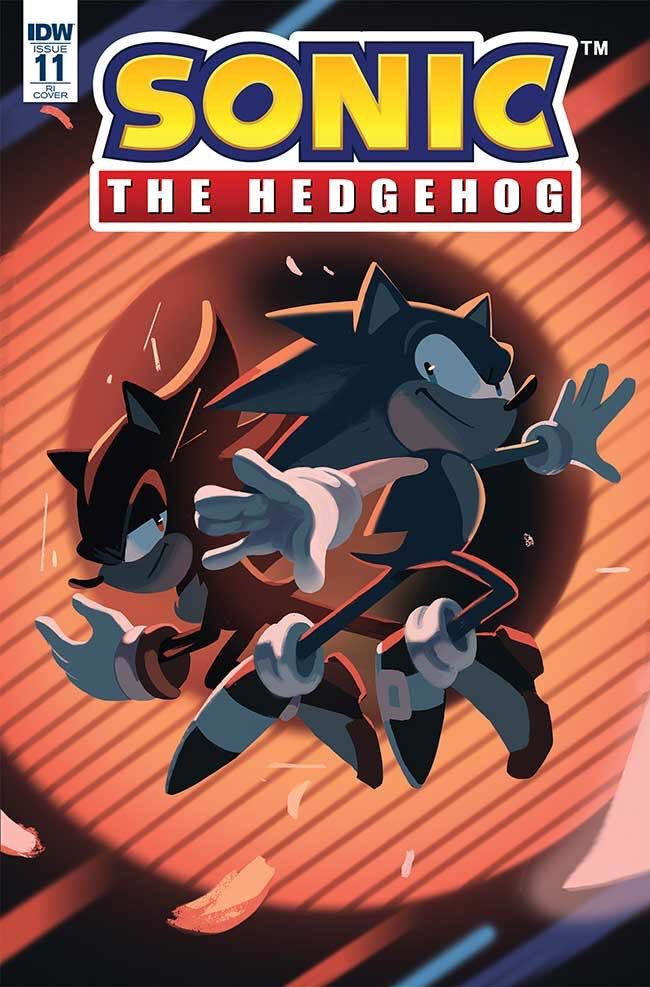 Alternative Cover For Idw Sonic Issue 11 Sonic The Hedgehog Sonic Sonic And Shadow