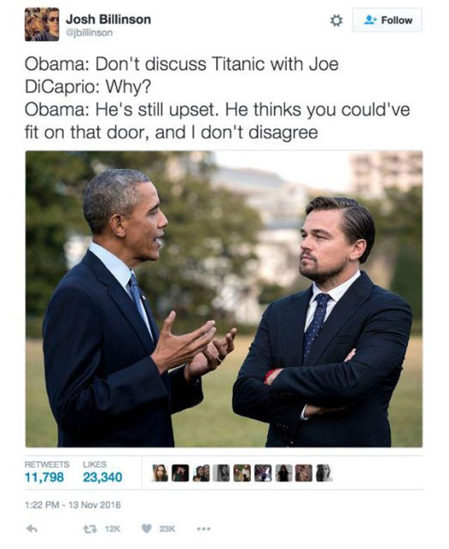 Funniest Memes of Biden and Obama Pranking Trump: Don't Discuss Titanic With Joe