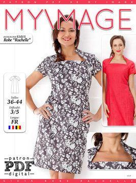 Robe RACHELLE Patron de Couture + Tutoriel - Patrons de couture chez Makerist