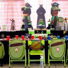 JD's TMNT Party - TMNT