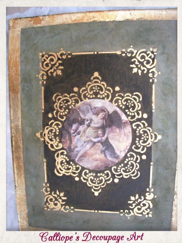 Calliope's Decoupage Art   Κάδρα