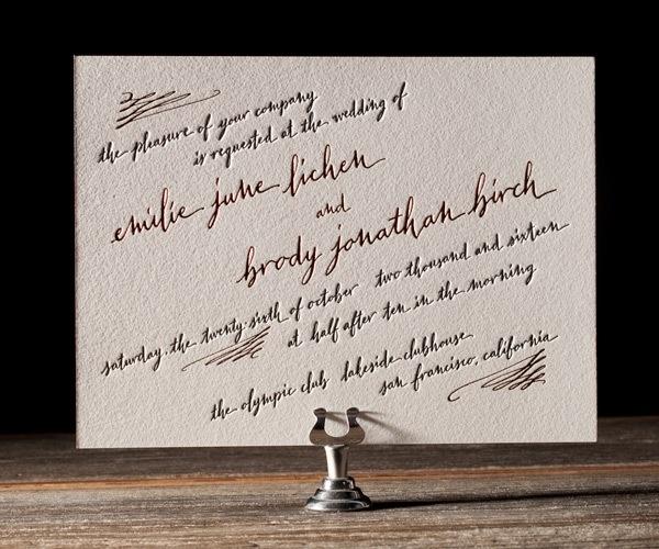 18 best letterpress invitations images on pinterest letterpress salutations wedding inspiration bella figura letterpress foil invitation solutioingenieria Gallery