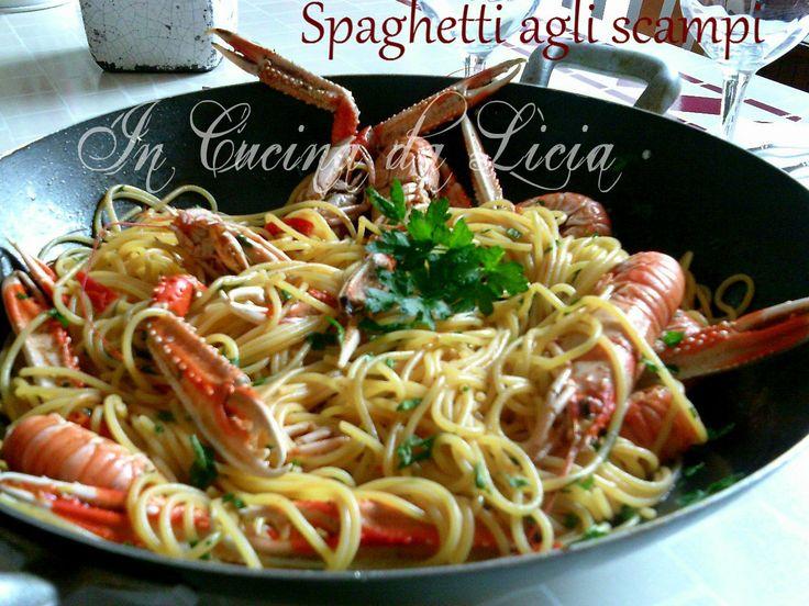 Spaghetti agli scampilog.giallozafferano.it/incucinadalicia/spaghetti-agli-scampi/