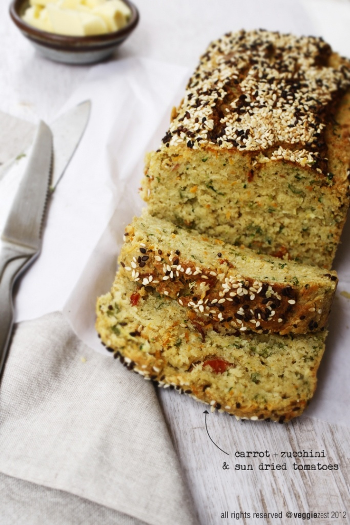 Can't wait to make this veggie bread!! Maybe in muffin tins like savoury muffins?