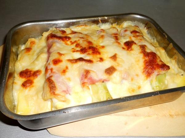 -cooked-ham-leek-bake