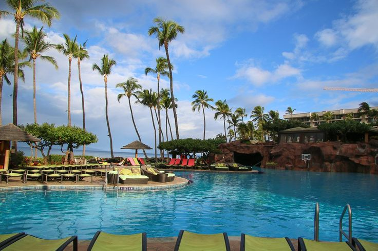 It was tough to tear my daughter away from the Hyatt Maui's pool, that is for sure.
