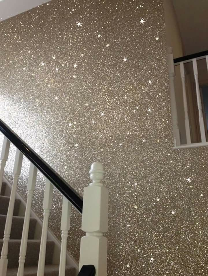 glitter wall paint for the home in 2019 glitter paint for walls glitter accent wall. Black Bedroom Furniture Sets. Home Design Ideas