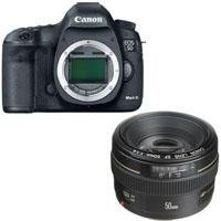 Canon EOS-5D Mark III Digital SLR Camera Body, with Canon EF 50mm f/1.4 USM Standard AutoFocus Lens – USA    Canon EOS 5D Mark III Pro HDSLR the Long-awaited successor to groundbreaking Canon 5D Mark II The Canon EOS 5D Mark III is an HDSLR designed to build on the unprecedented success of its predecessor, the Canon EOS 5D Mark II. #camera #canon