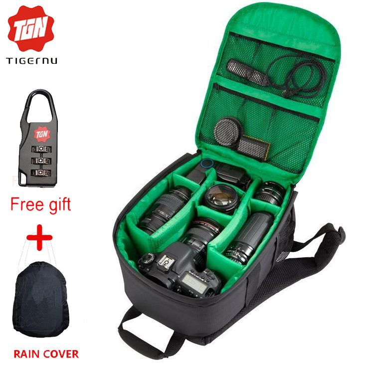 Tigernu Camera Dslr Bag Waterproof New Pattern DSLR Camera Bag Backpack Video Photo Bags for Camera d7100 Small Camera Backpack
