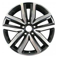 Volkswagen JETTA 2012-2014 [69941] Machined and Black Aluminum Alloy 18x7.5 5-5…