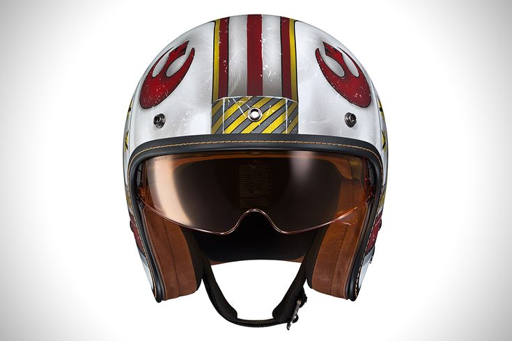 Luke Skywalker Rebel Fighter Motorcycle Helmet BY HJC