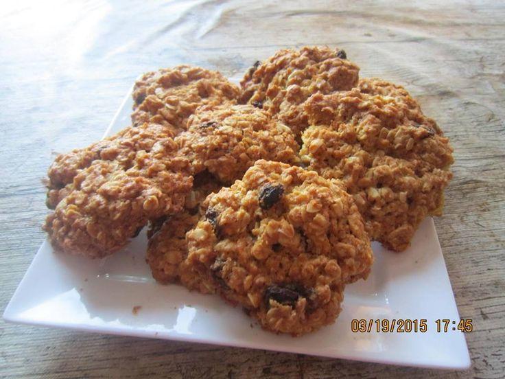 rizsliszttel zab keksz