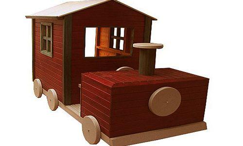 oyun parkı-lokomotif