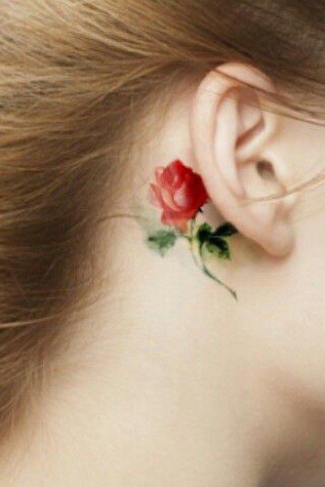 1000 id es sur le th me tatouages derri re l 39 oreille sur pinterest tatouages d 39 oreille - Tatouage derriere oreille douleur ...