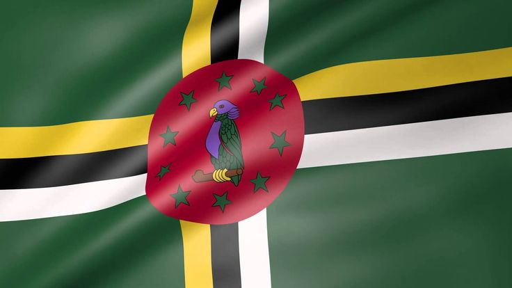 Dominica Animated Flag