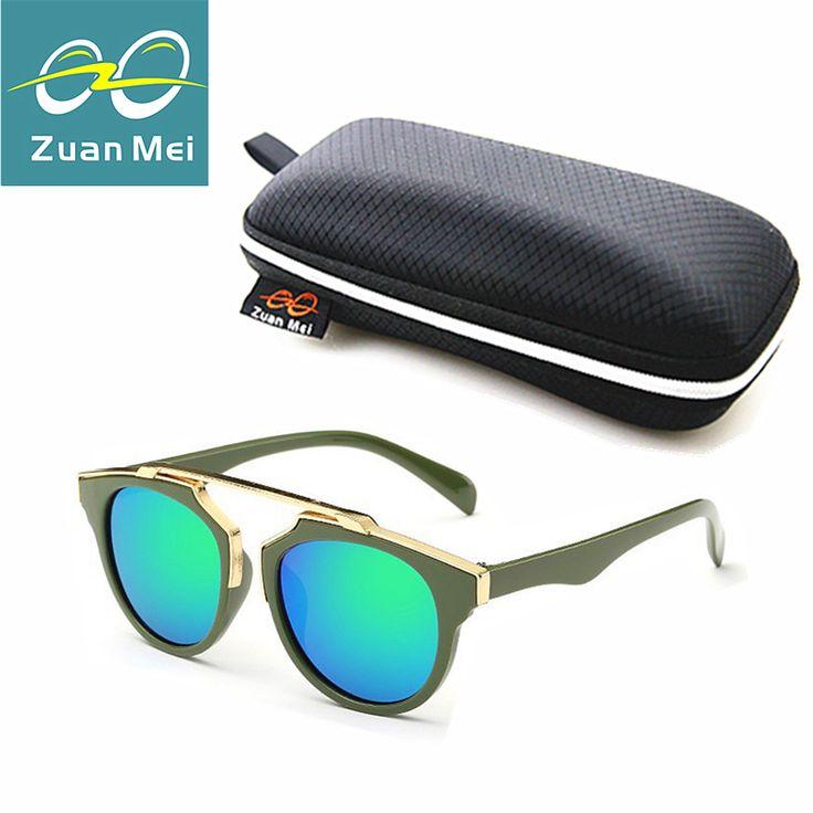 Zuan Mei Brand Kids Sunglasses Girls Baby Sunglasses Boys Vintage Children Glasses Round Sun Glasses For Boys Gafas De Sol Ninos
