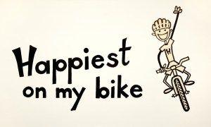 Happiest on my bike