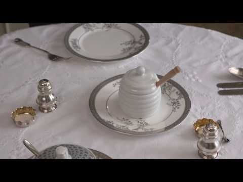 (69) The Correct Way To Lay The Breakfast Table - YouTube