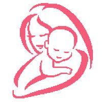 Mum & Baby Silhouette Graph 150x150