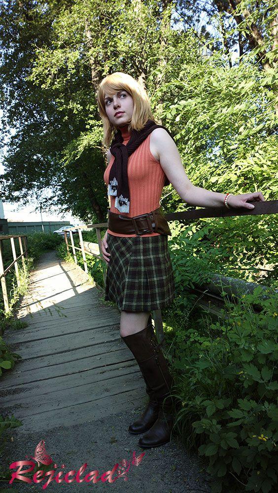 Ashley Graham Resident Evil / Biohazard 4 cosplay V by Rejiclad.deviantart.com on @DeviantArt