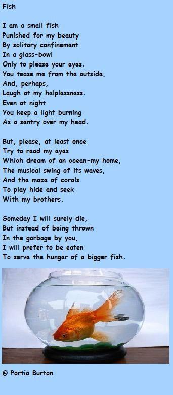 Fish -  a poem by me © Portia Burton