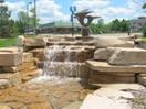 Nicollet Commons Park - Free admission, free parking. Water features including shallow pools and waterfalls made for kids to play in.