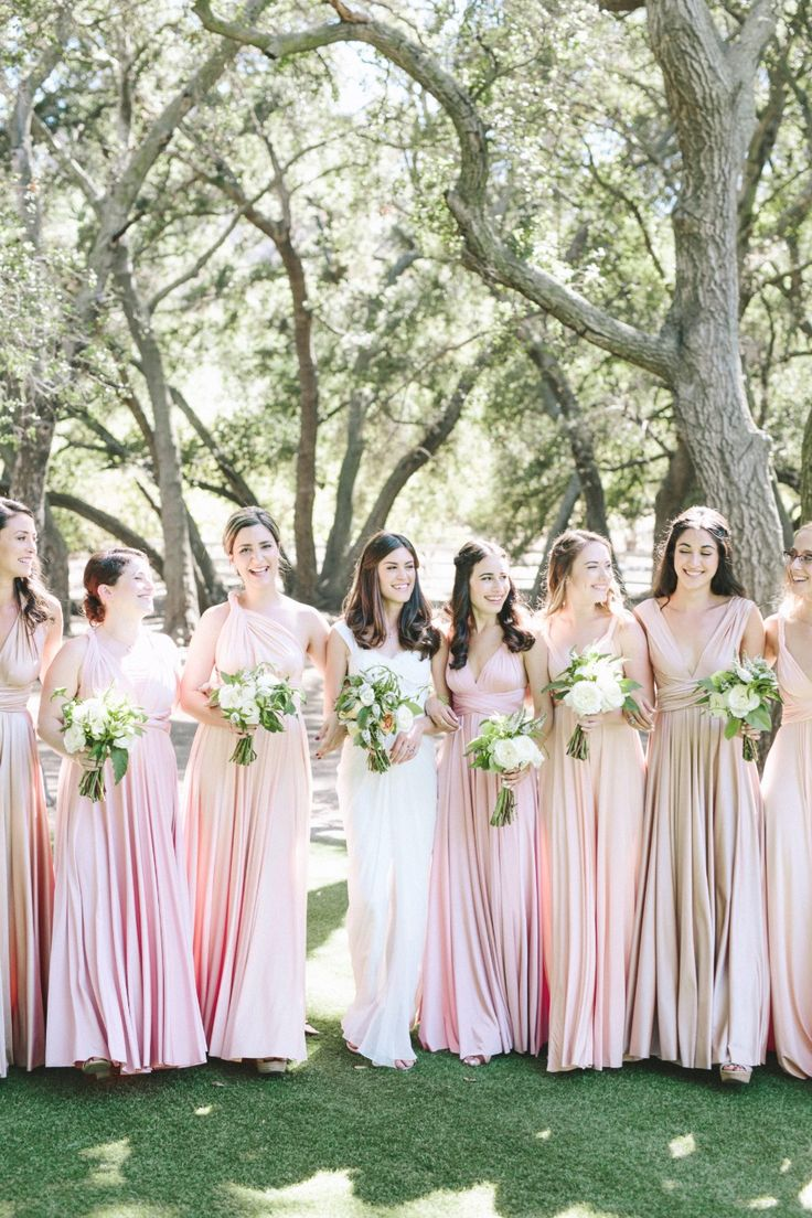494 best bridesmaid dresses images on pinterest bridesmaids think this is a classic blush wedding think again ombrellifo Gallery