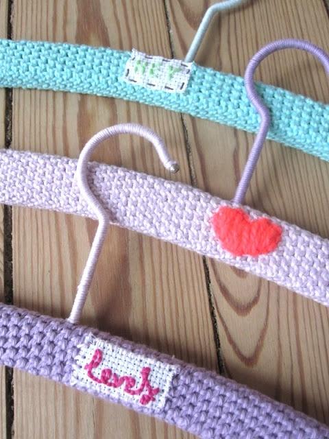 Crochet hangers TheFunkyFox