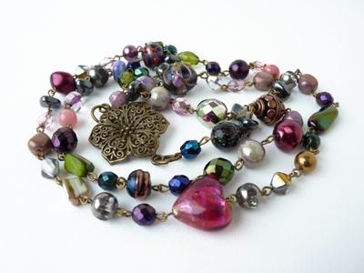 Korále na jaro   Spring and beads