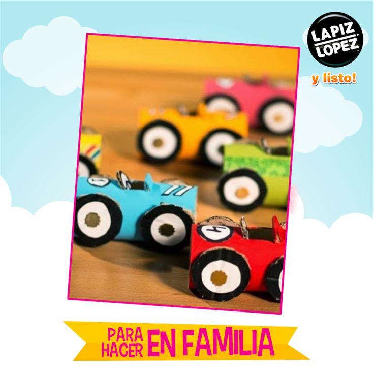 Recicla todo lo que tengas a mano para crear divertidos juguetes para tus hijos.