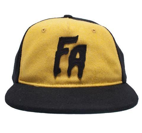 FA Logo Wool Black/Yellow
