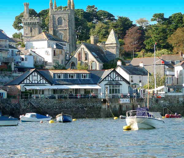 """Fowey: """"Fowey's architecture is fascinating: by turn Elizabethan, Edwardian, Georgian and Victorian, reflecting the non-stop development of the port from medieval times as it gradually took over from Lostwithiel, right up to the present day."""" www.bradtguides.com"""