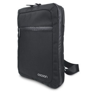 """Tablet Messenger Bag Magellan's Pack and organize your tablet with all its accessories. This compact, yet highly functional bag features a zip-around front compartment with Grid-It® organizer panel that secures cords, headphones, charger, tickets, and more. Padded back pocket holds an iPad®/tablet. Exterior zip and open pockets. Heavy-duty 1680-denier ballistic nylon. 9 ¾"""" x 13 ¼"""" x 3"""". Strap adjusts 25""""–51"""". Now: $39.95"""