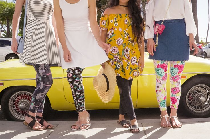 New Signature SweetLegs! Left to right: Ruff House, Happiness, Smokeshow, and Sun Drenched.