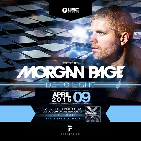 Morgan Page join us for a special intimate performance at Seattle's #1 Nightclub on Thursday April 9th, 2015. Voted DJ Mag Top 100 Clubs Worldwide